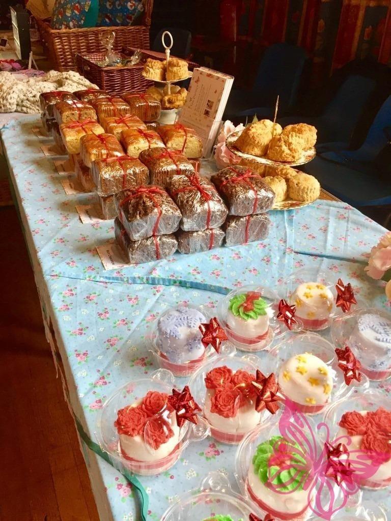 Christmas Cake Stall