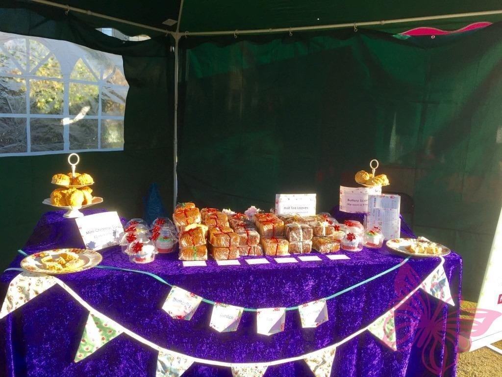 Strode Park Cake Stall
